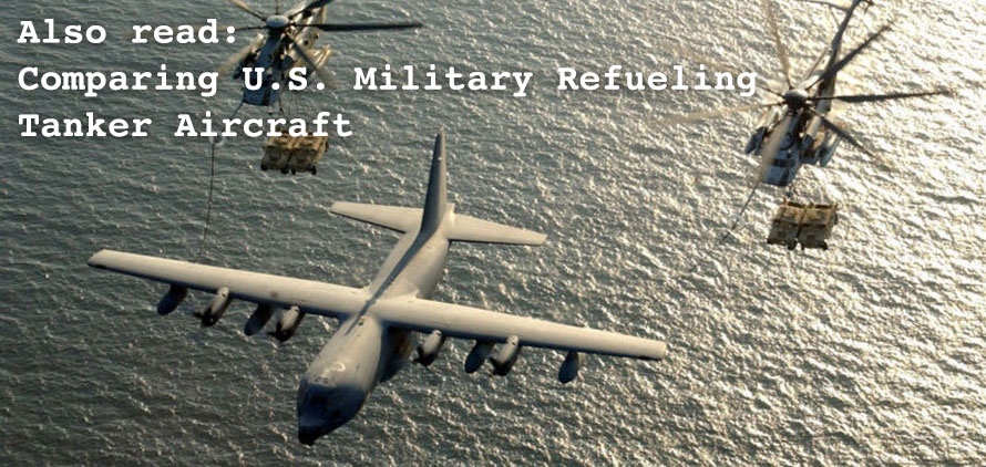 Comparing U.S. Military Refueling Tanker Aircraft