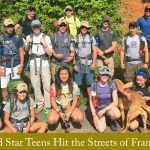 Gold Star Teens Hit the Streets of Franklin on June 19
