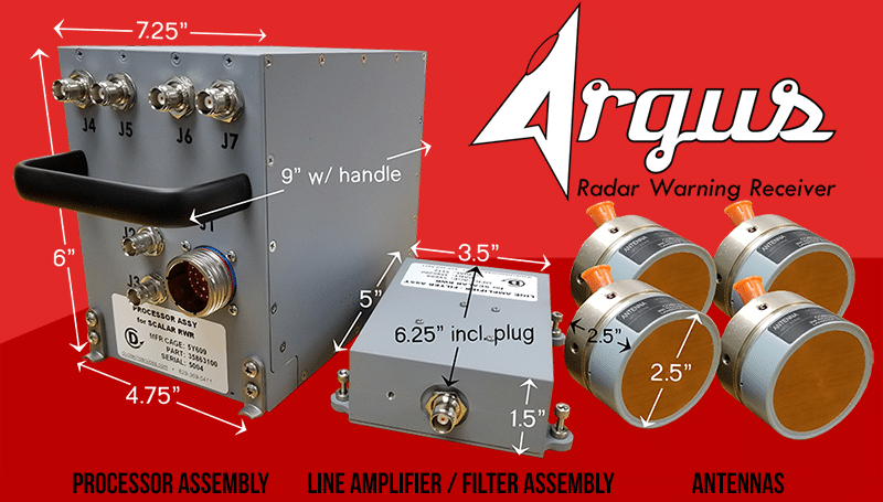 argus rwr radar warning receiver