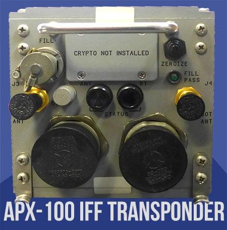 APX-100 IFF Transponder NSN 5841-01-469-7866 PN 4070780-0505