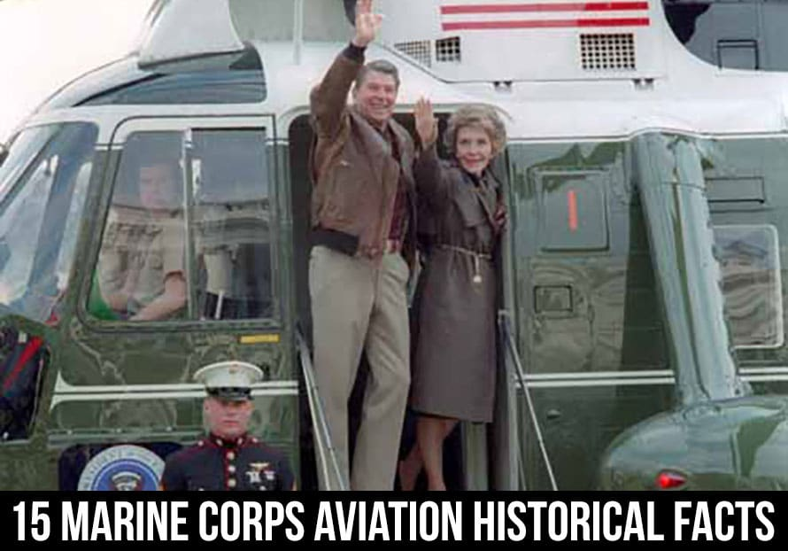 marine corps aviation president reagan on HMX-1 Marine 1