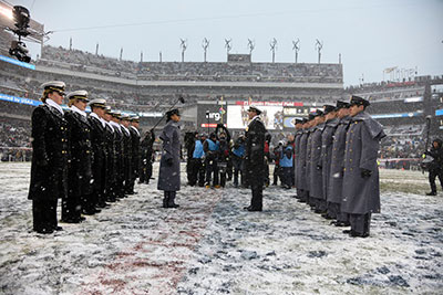 The Prisoner Exchange army navy game