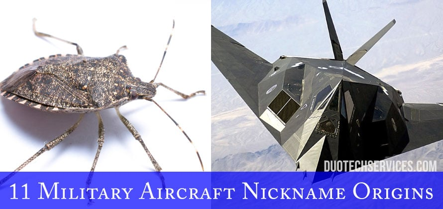 11 Military Aircraft Nickname Origins