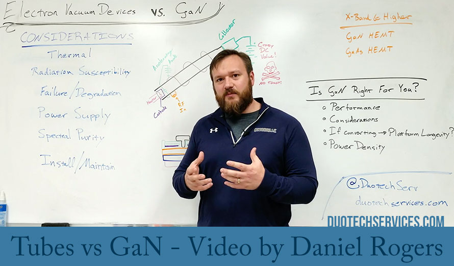 Tubes vs GaN – Video by Daniel Rogers