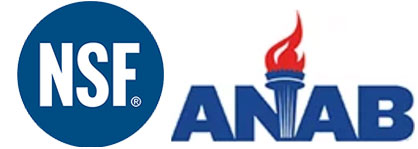 anab nsf accredited