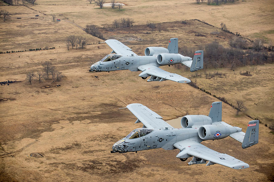A-10 Unit Receives the Gallant Unit Citation, a Rare Honor