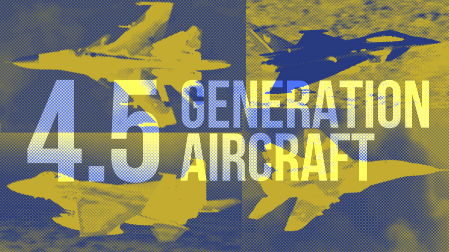 Comparing 4.5 Generation Aircraft - Su-34, F-15, Typhoon, and 5 More