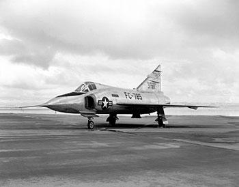 F-102 Delta Dagger George W. Bush