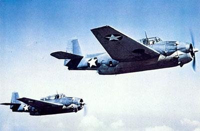 Grumman TBF Avenger George H.W. Bush