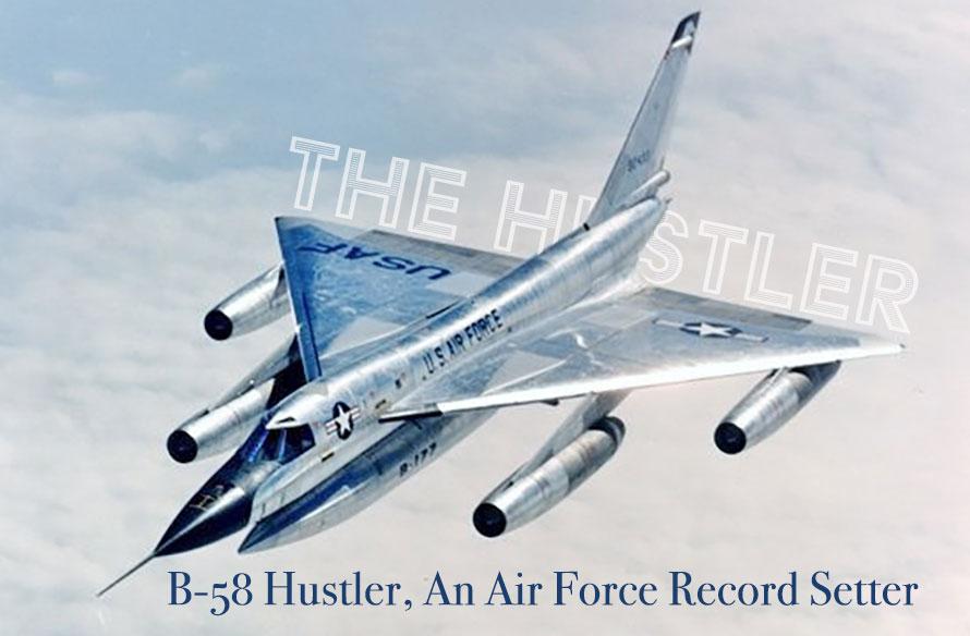 B-58 Hustler usaf record setter