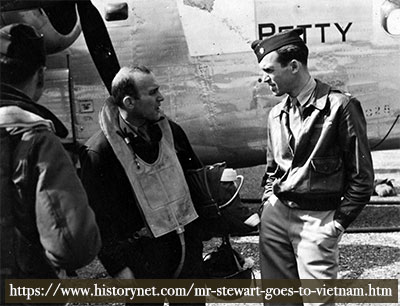 jimmy stewart actor and usaf bomber
