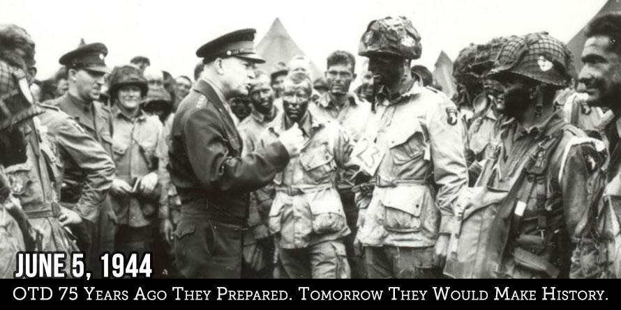 OTD 75 Years Ago They Prepared. Tomorrow They Would Make History.