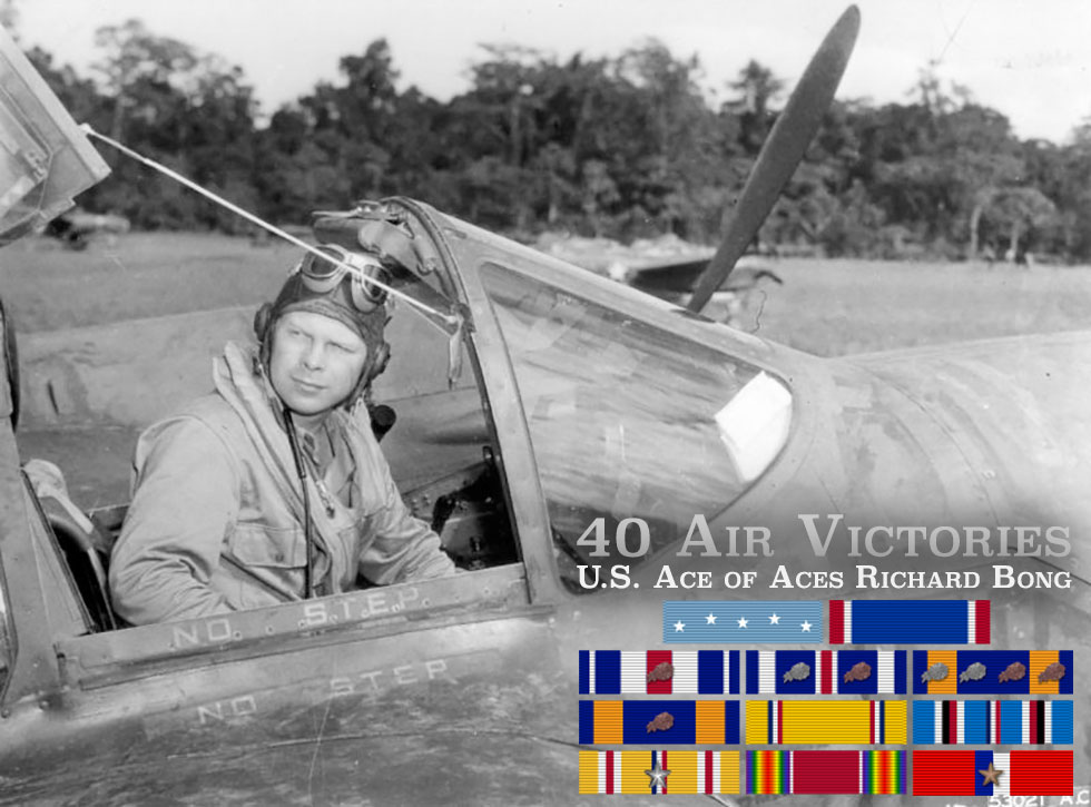 40 Air Victories – U.S. Ace of Aces Richard Bong