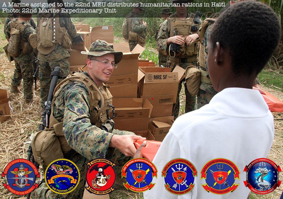 22nd meu humanitarian aid in haiti