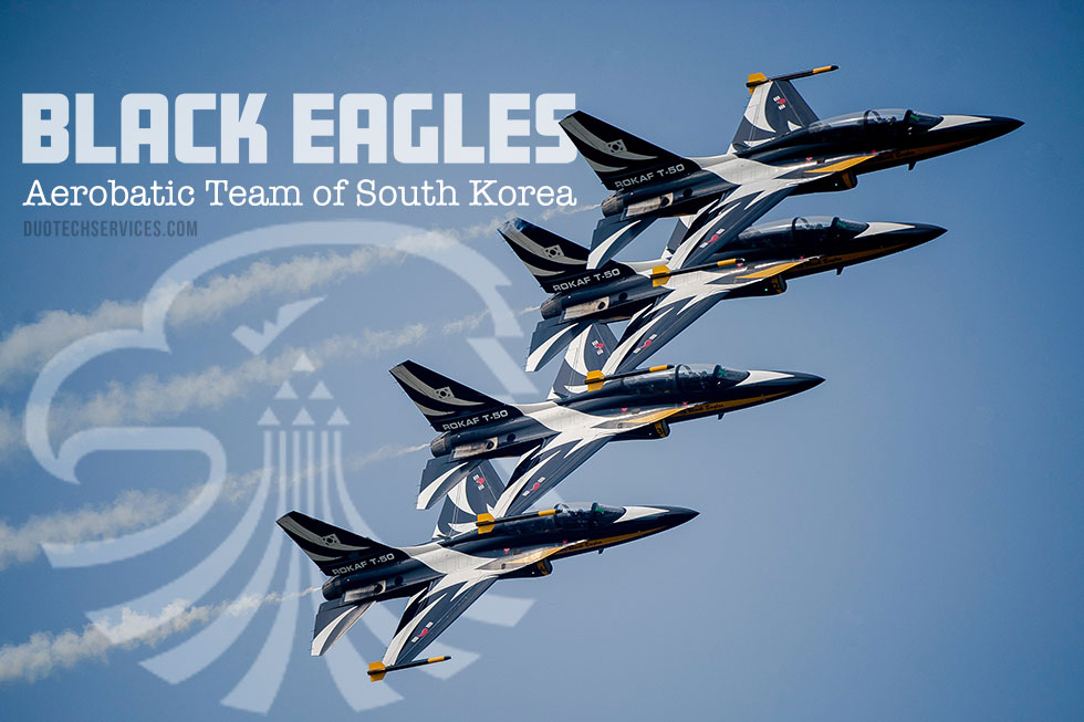 Jet Friday: The Black Eagles Aerobatic Team of South Korea