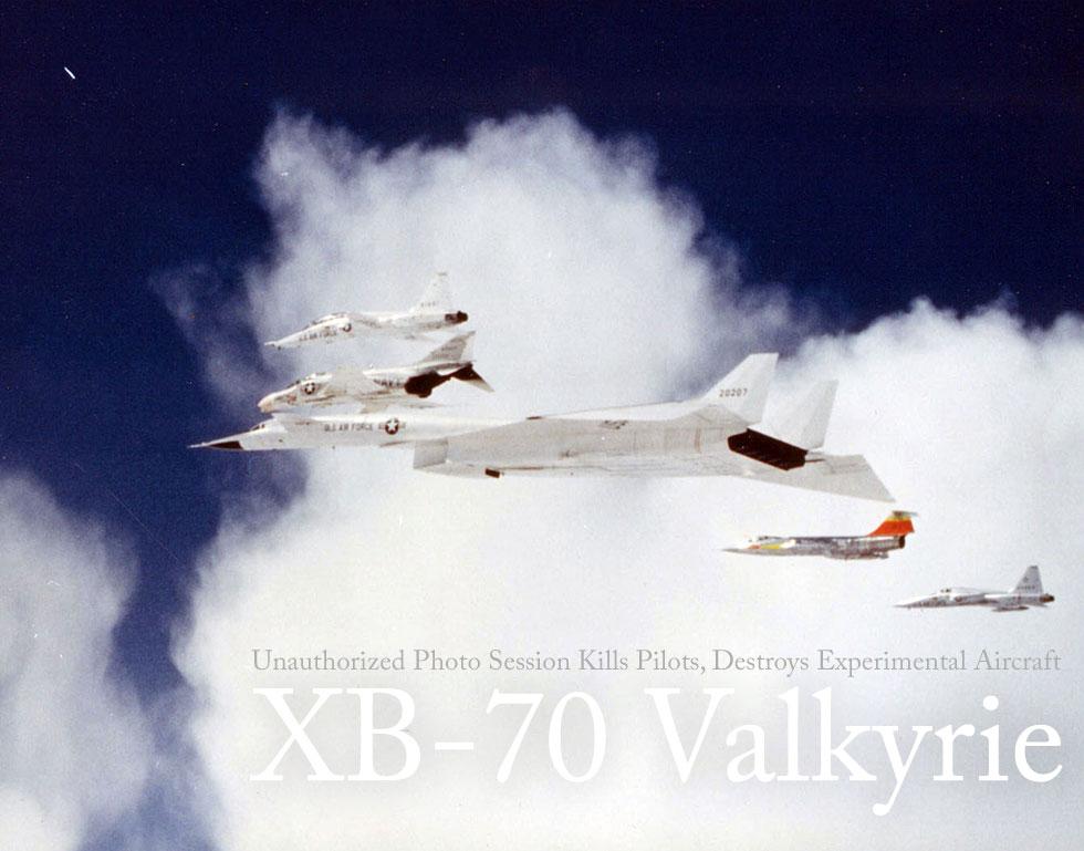 Unauthorized Photo Session Kills Pilots, Destroys Experimental Aircraft