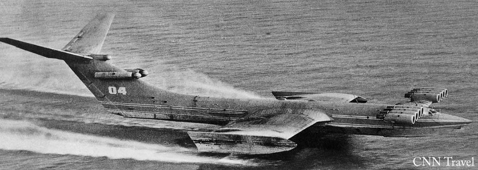 Jet Friday – The Caspian Sea Monster