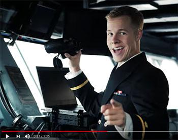 go navy helm yeah spirit spot video