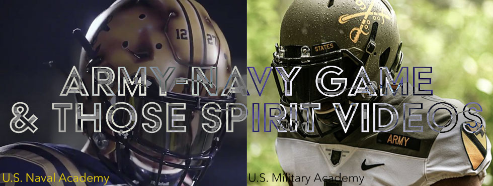 Army Navy Game And Those Spirit Spot Videos 2019