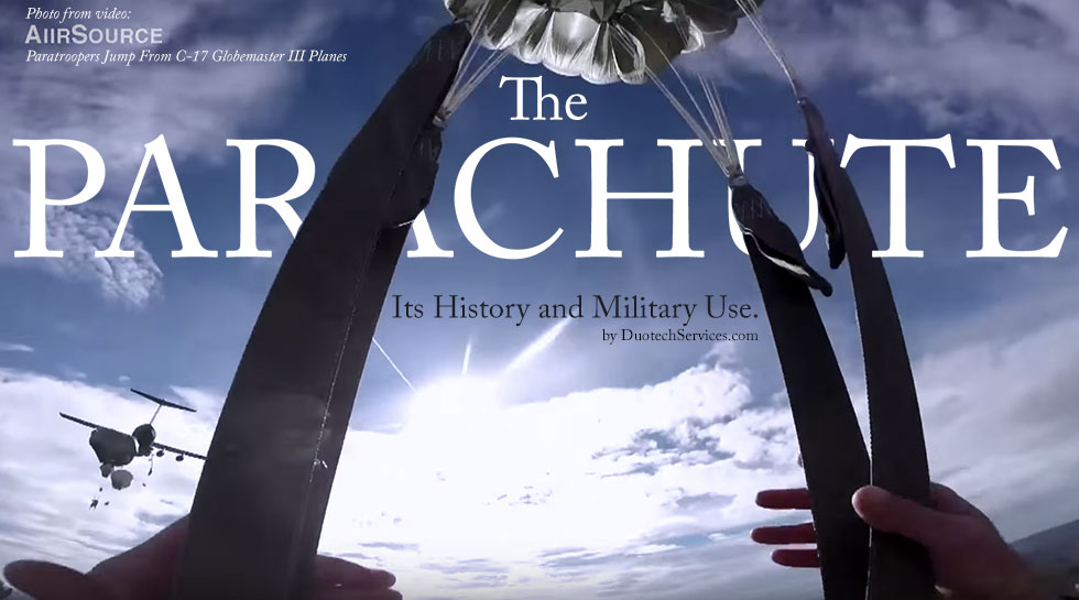 The Parachute – Its History and Military Use.