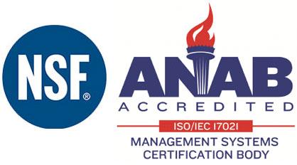 anab nsf accredited