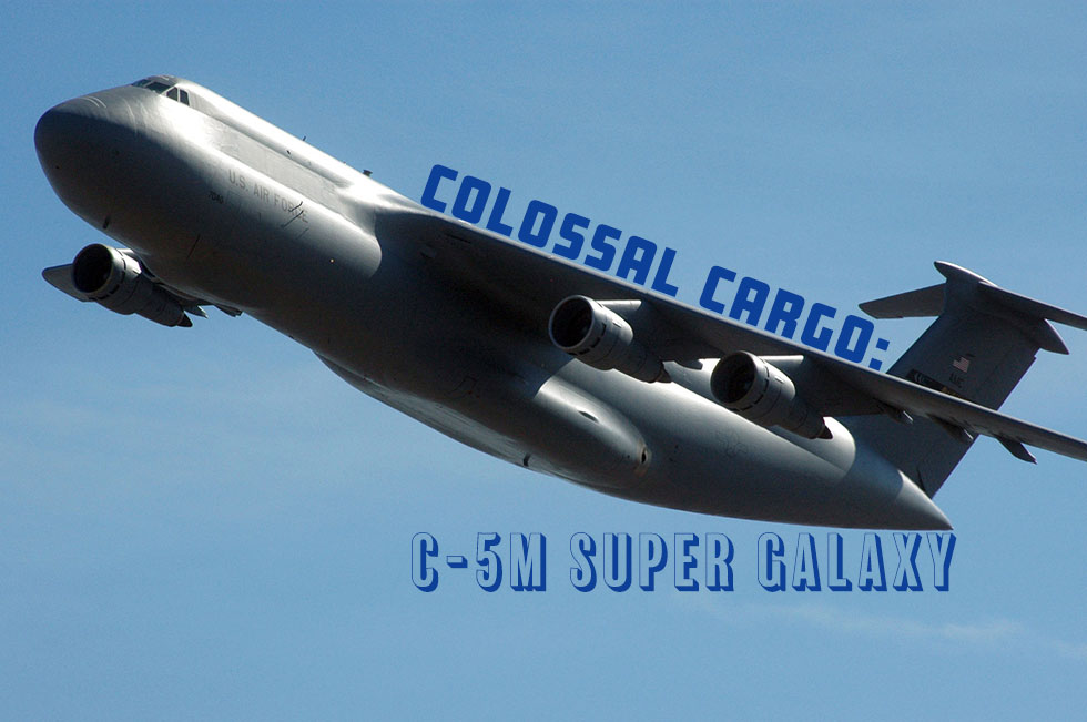 Colossal Cargo: C-5M Super Galaxy vs An-124 Ruslan