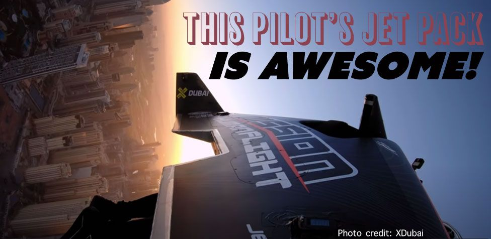 JetFriday - This Pilot's Jet Backpack Is Awesome!