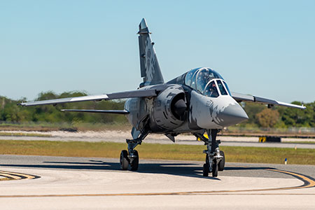draken mirage f1 adversary air contracted aggressor air services