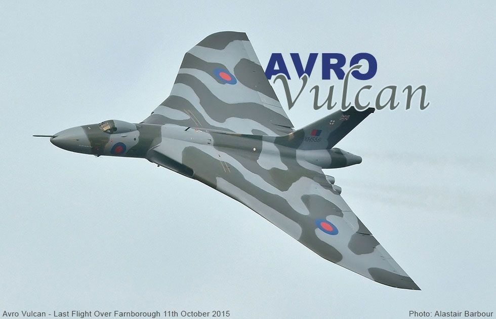 Avro Vulcan high-altitude strategic bomber for the Royal Air Force