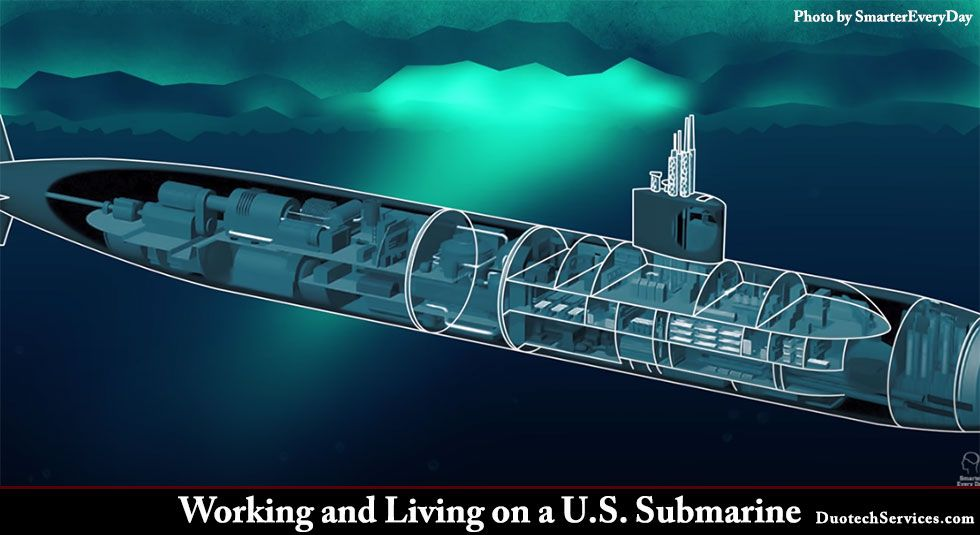 Working and Living on a U.S. Submarine