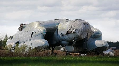 Soviet Unions Bartini Beriev VVA-14